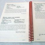 BARS Book of Favorite Shellfish Recipes interior page