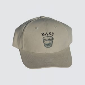 BARS-taupe-hat