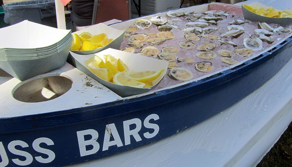 USS BARS raw bar