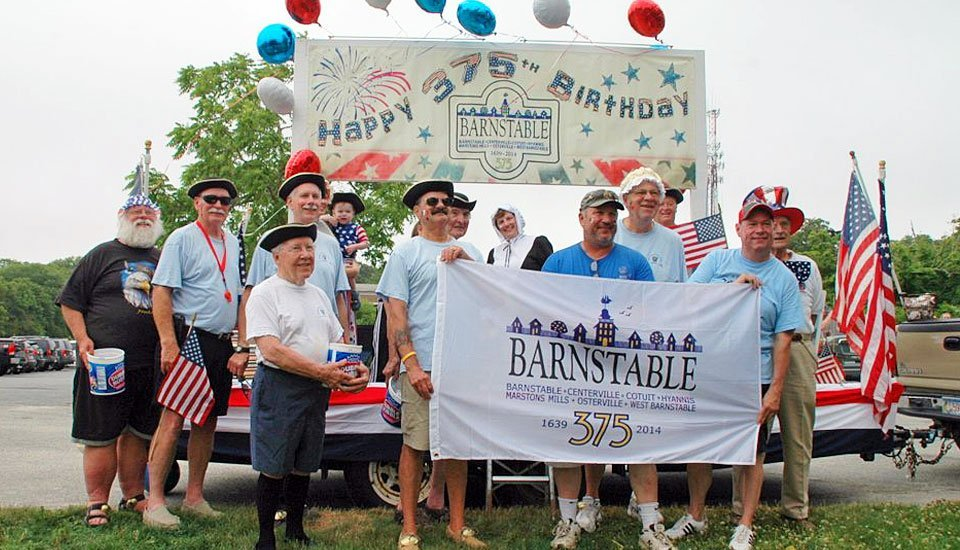 BARS float at Barnstable July 4th parade