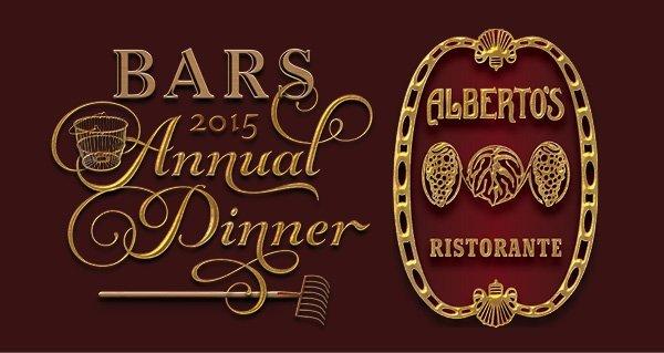 BARS 2015 Annual Dinner