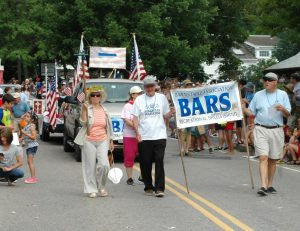 BARS on Parade at Barnstable July 4th Parade
