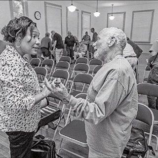 Tonna-Marie Rogers and Harvey Ornstein