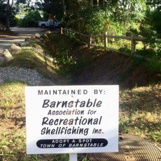 BARS sign at Cordwood Landing