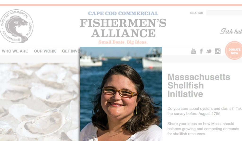 Mellisa Sanderson COO Cape Cod Commercial Fishermen's Association