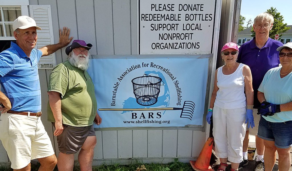BARS recycling shed volunteers