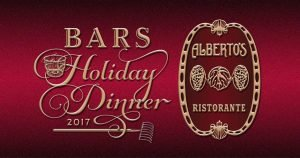 BARS Annual Holiday Dinner 2017 at Alberto's Ristorante