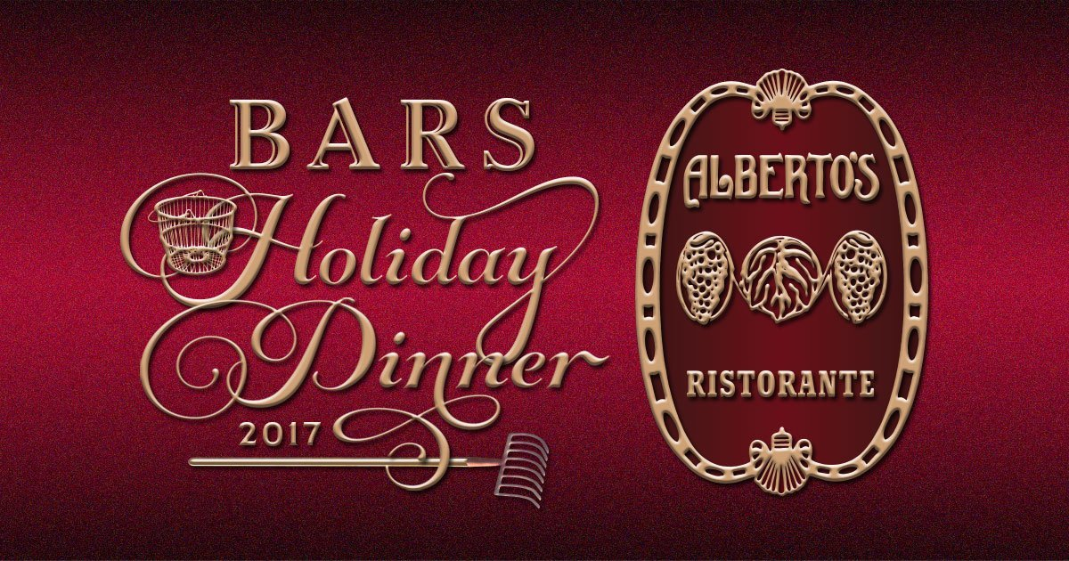 BARS Annual Holiday Dinner 2017 at Alberto's Ristorante
