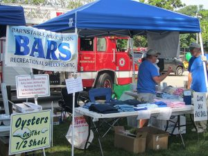 BARS booth at West Barnstable Village Festival