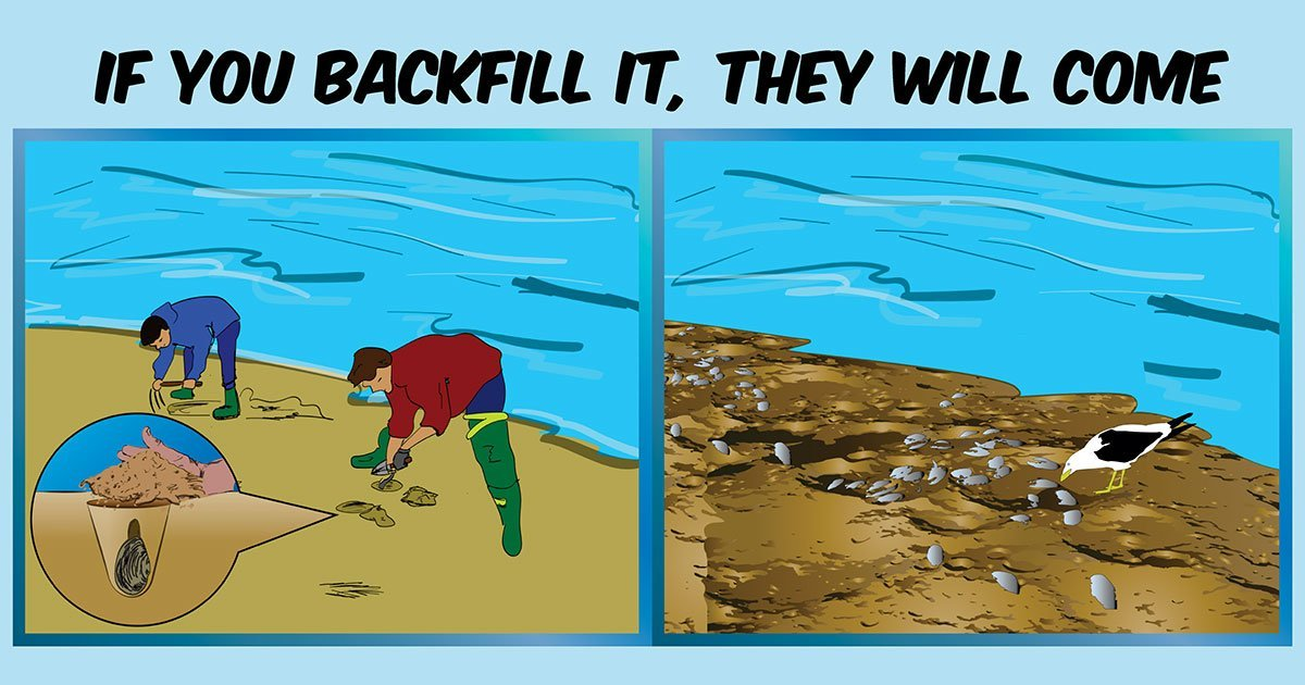If you backfill, they will come.