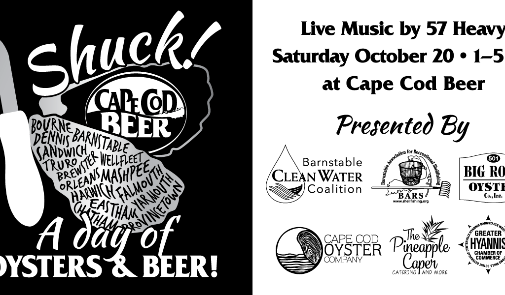 Shuck! A Day of Oysters and Beer at Cape Cod Beer