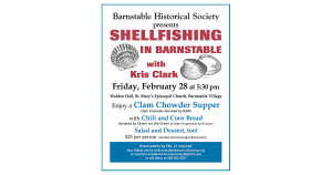Shellfishing in Barnstable with Kris Clark