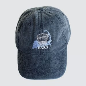 BARS navy hat with new logo
