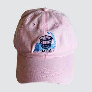 BARS pink hat