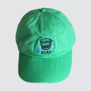 Seafood Green BARS hat