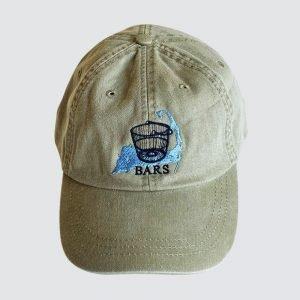 Stone Gray BARS hat