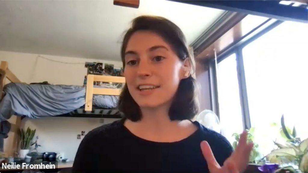 Neilie Fromhein BARS scholarship winner interview